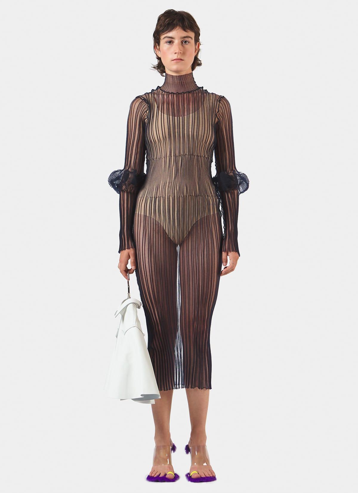 Long Sleeve Knit Dress_Main