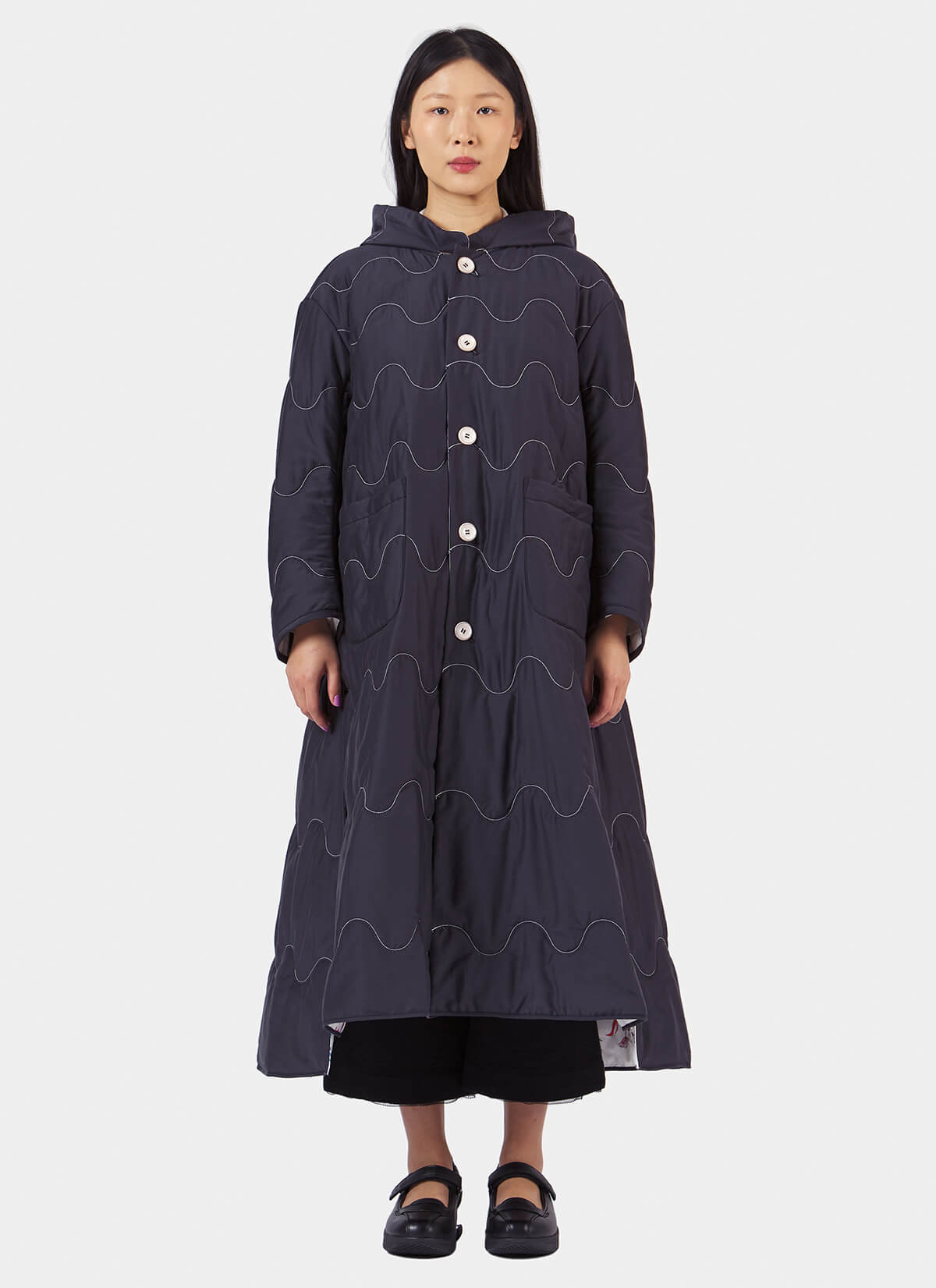 Renli Su Reversible Quilted Coat