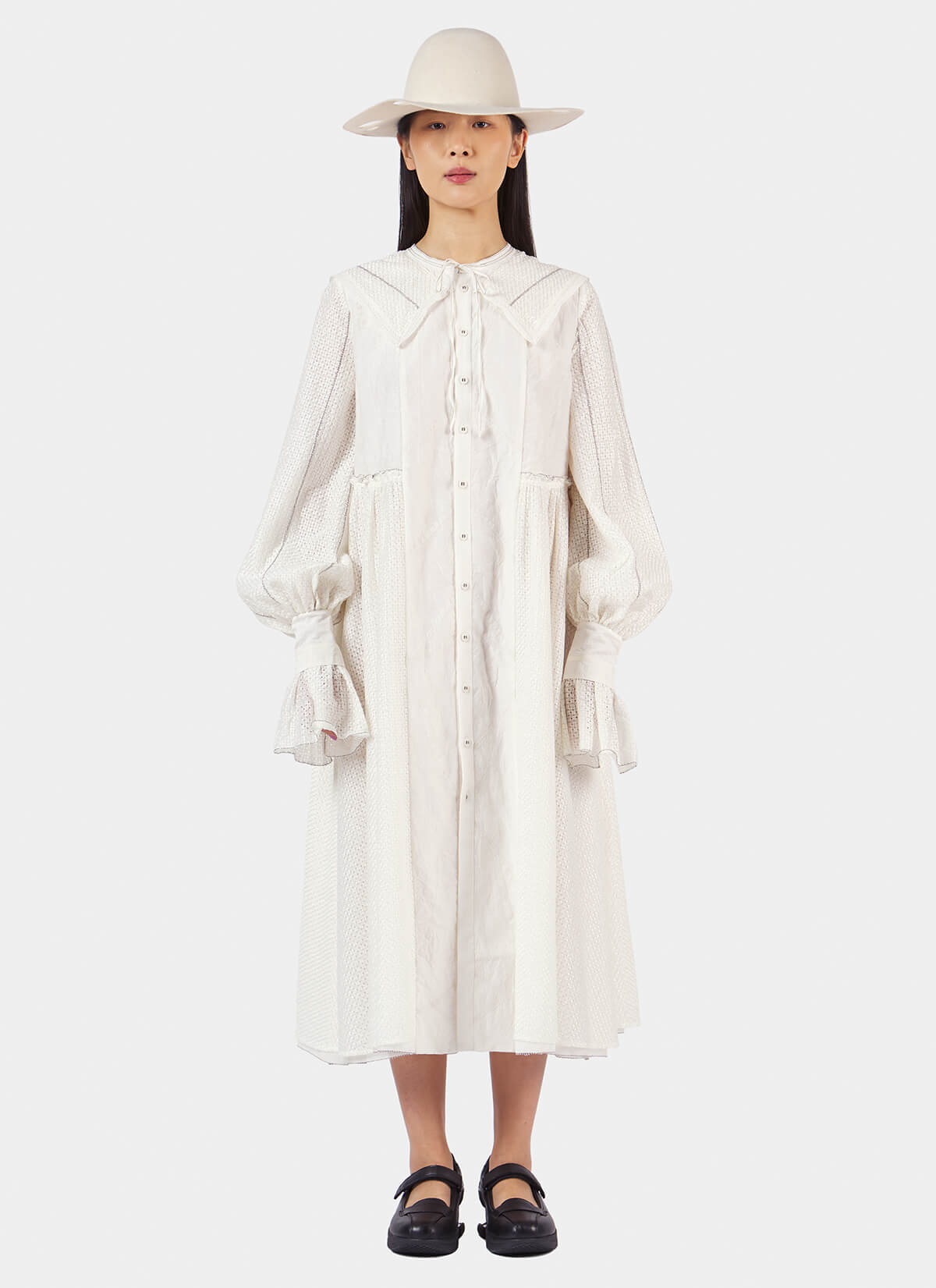 Renli Su Long Shirt Dress