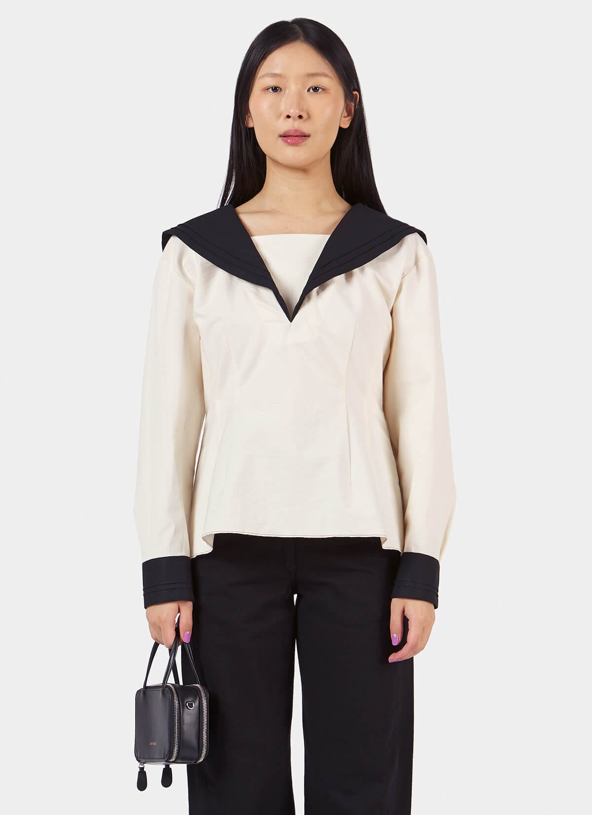 Facetasm Sailor Shirt-Front