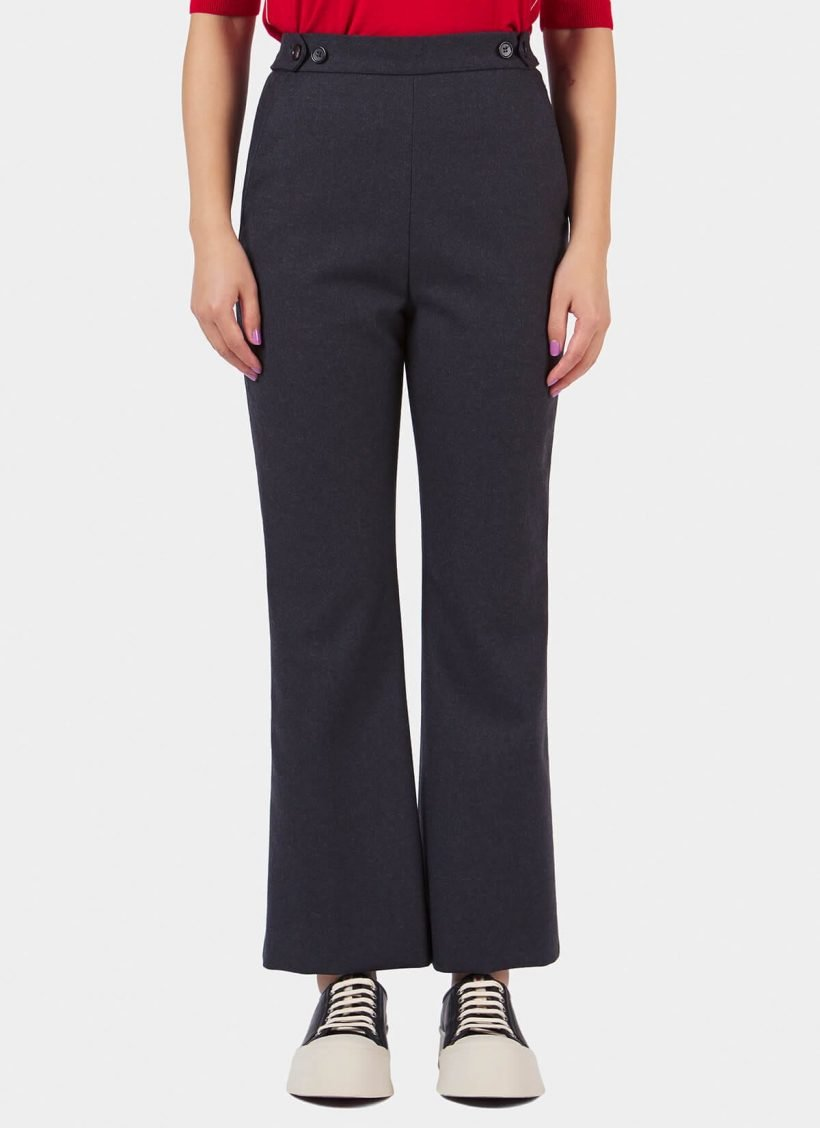 Marni High Waist Loose Fit Trousers