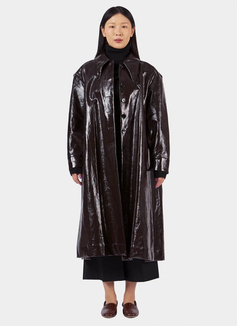Lemaire Long Shirt Coat