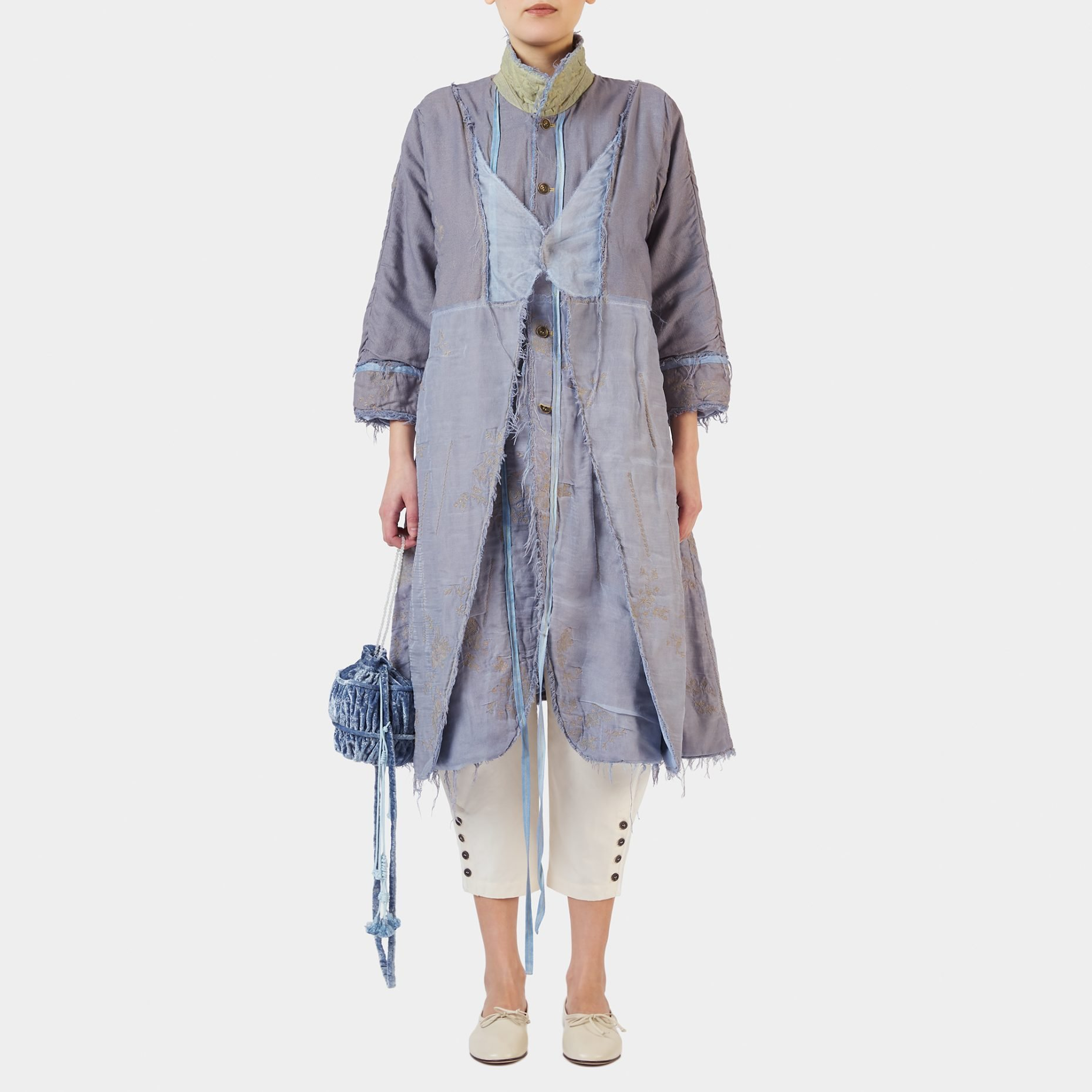 Renli Su Hand Dyed Long Jacket