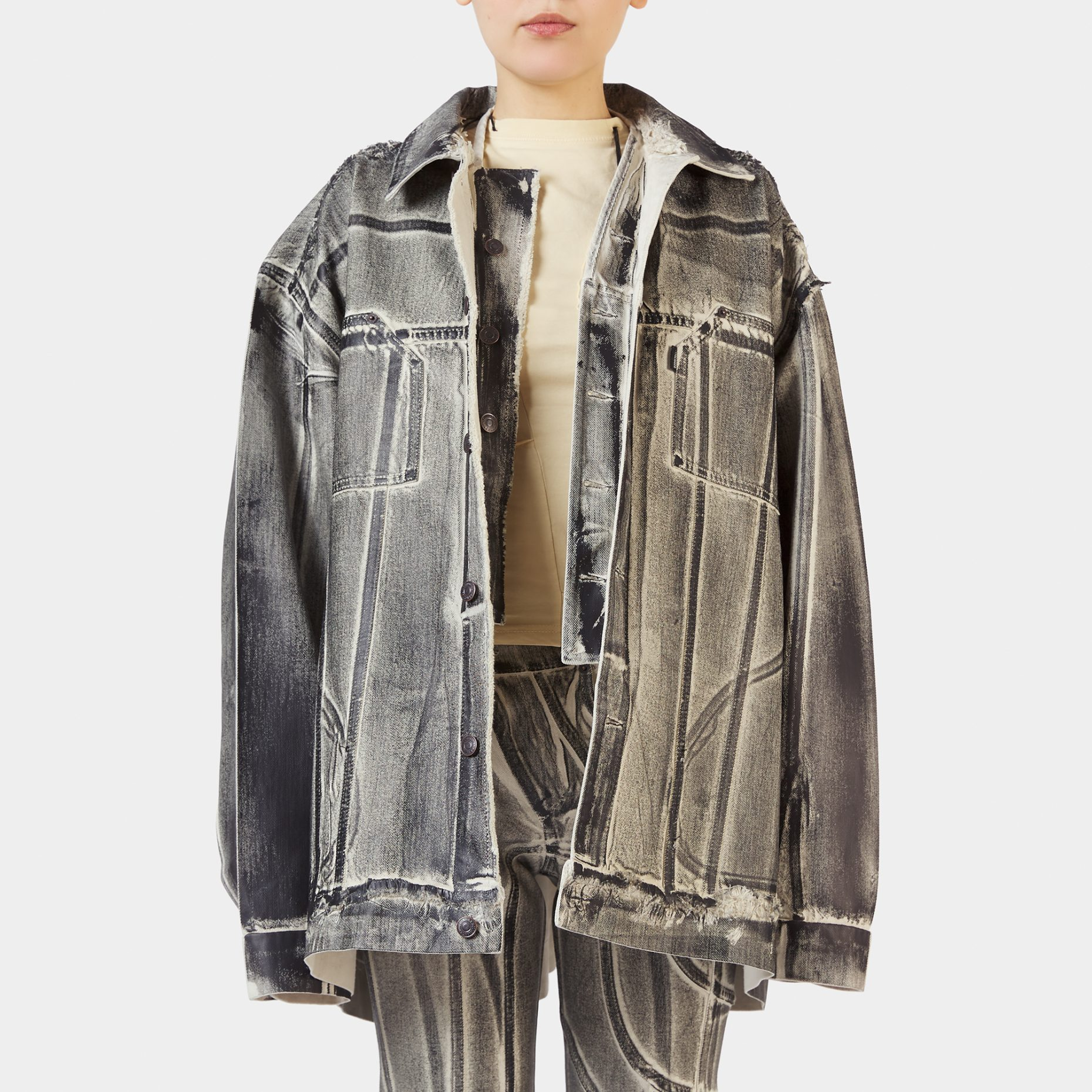 Ottolinger Oversized Denim Jacket