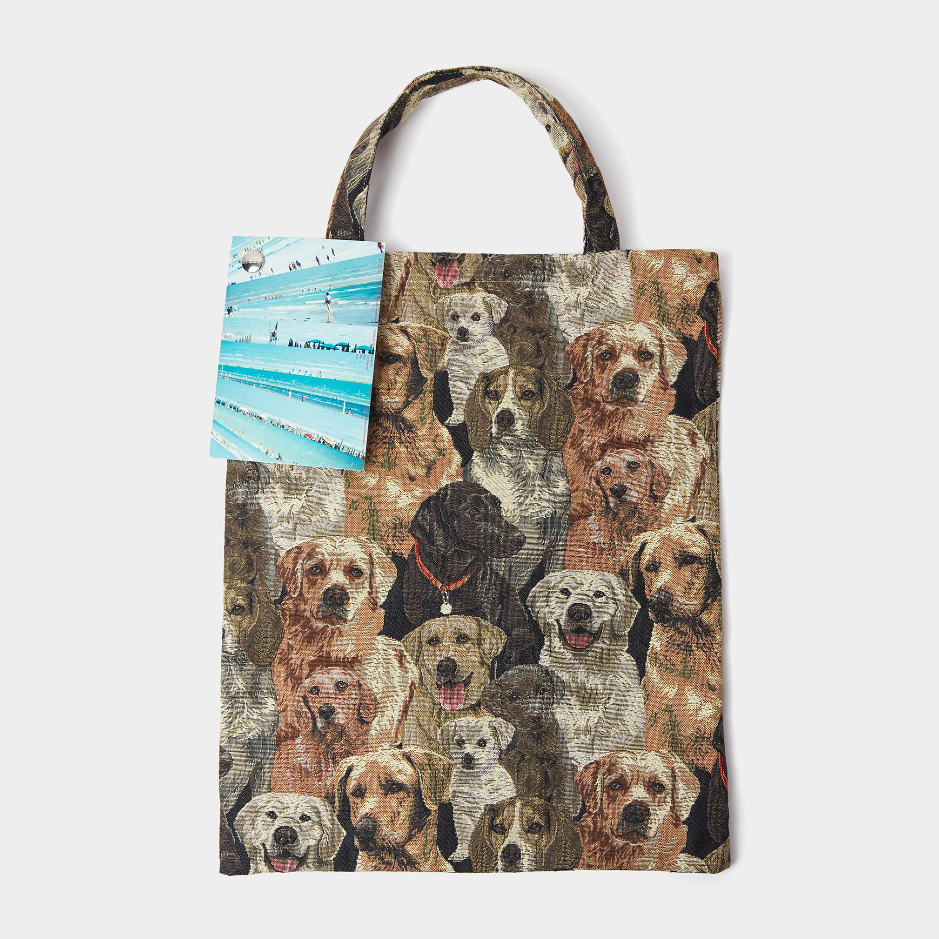 Bless Dog Bag Big