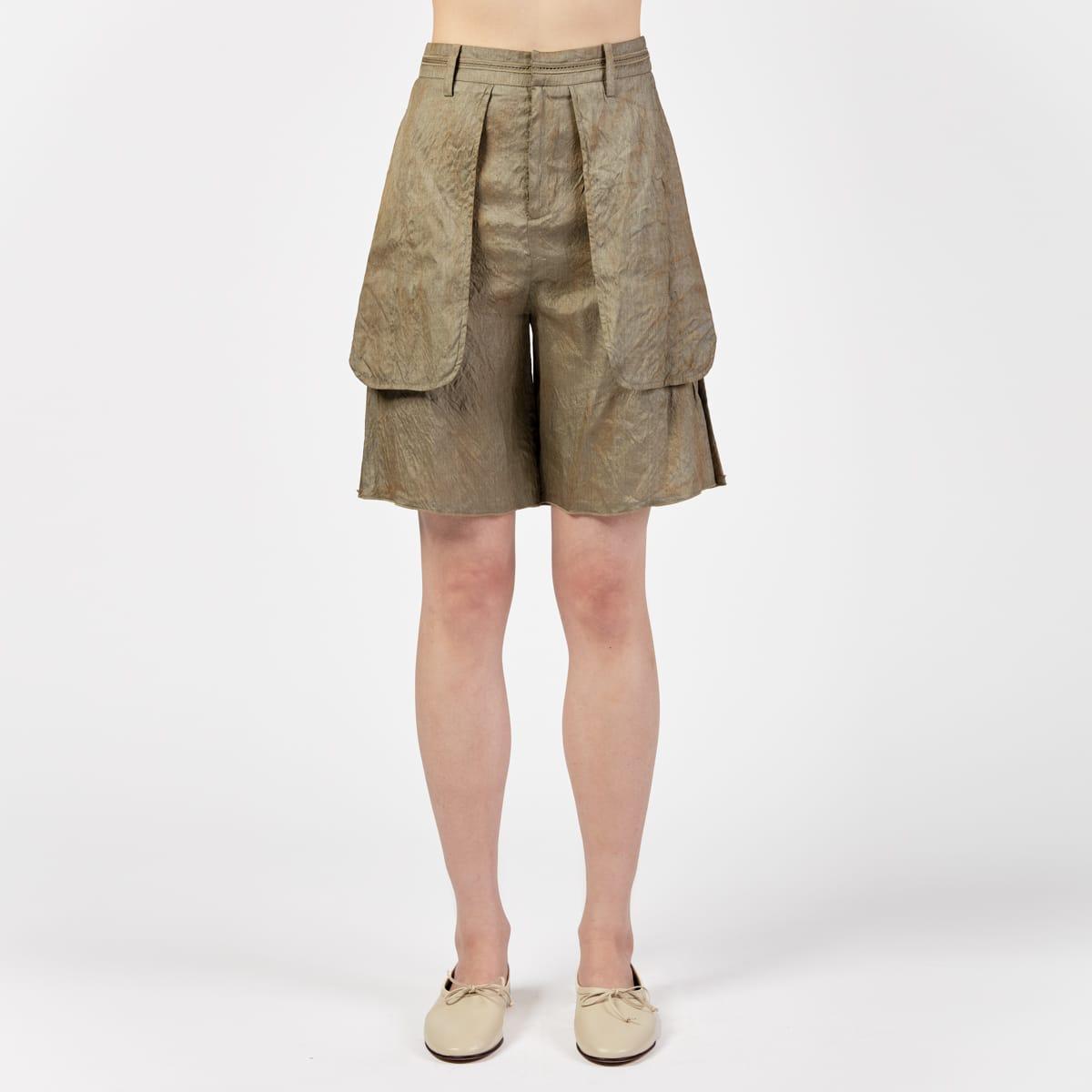 Phaédo Shorts With External Pockets