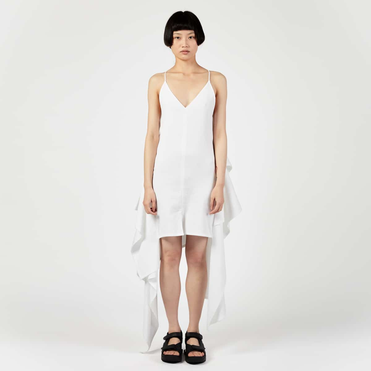 AFTERHOMEWORK (PARIS) Square Dress