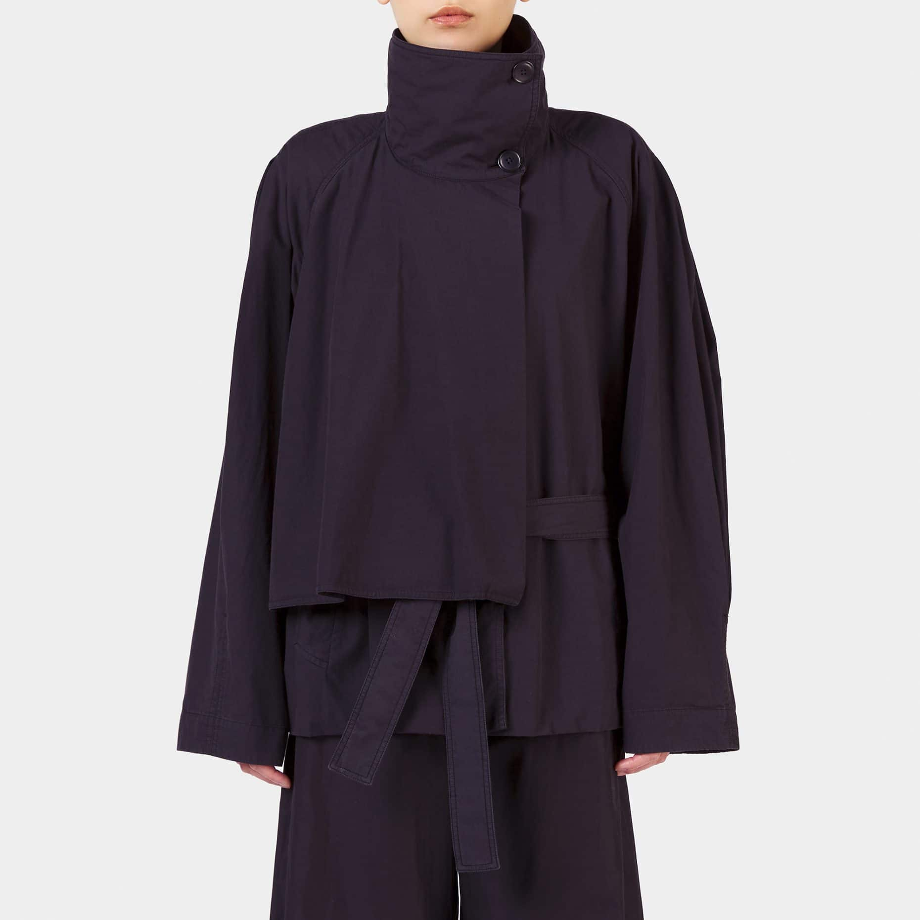 Lemaire High Collar Blouson Black
