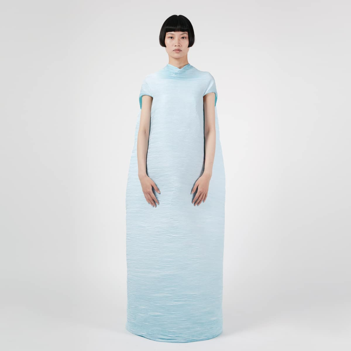 Peet Dullaert Techno Pleat Cone Dress