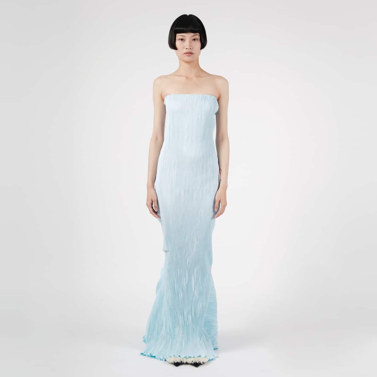 Peet Dullaert Techno Pleat Sculptured Dress