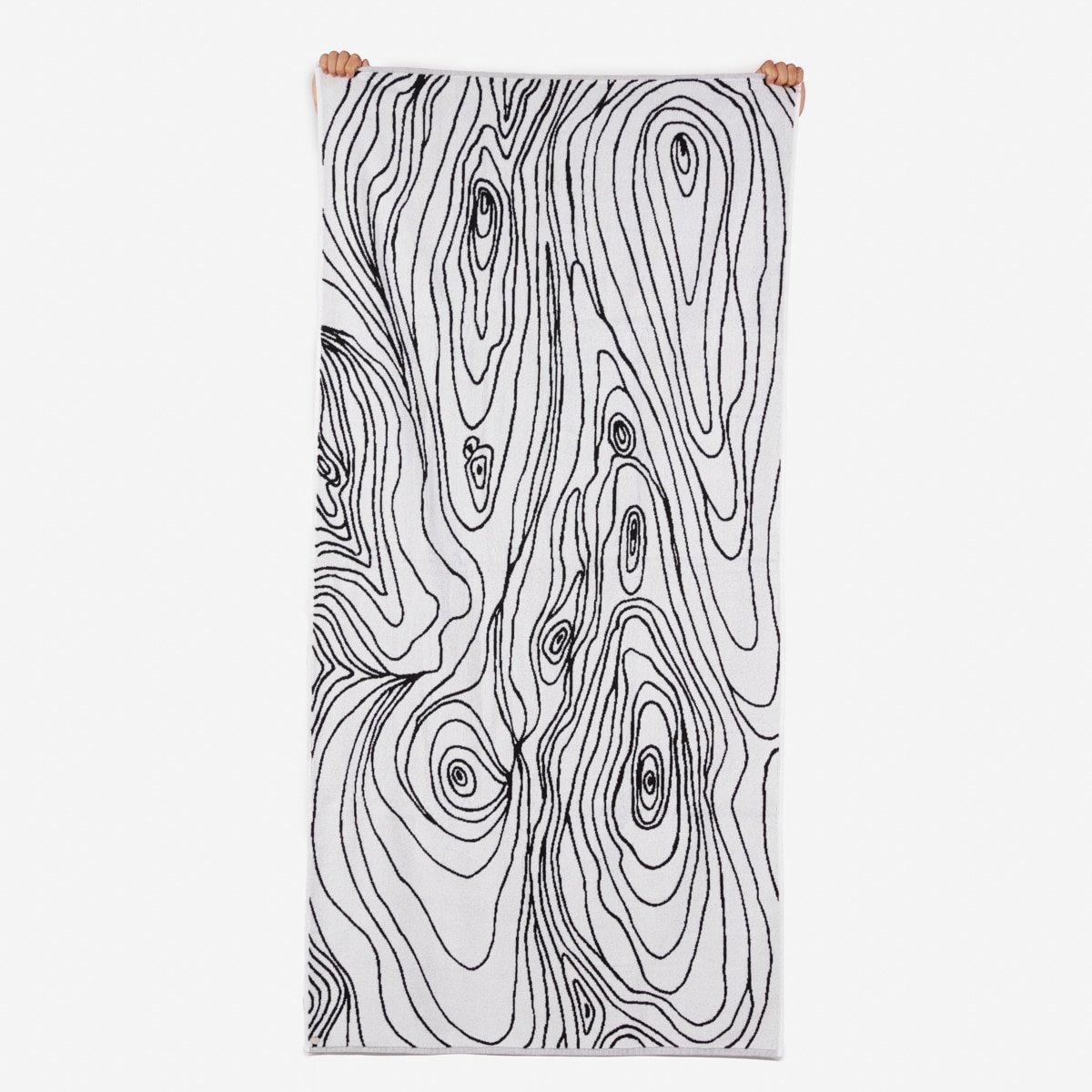 Bless Woodgrain Towel