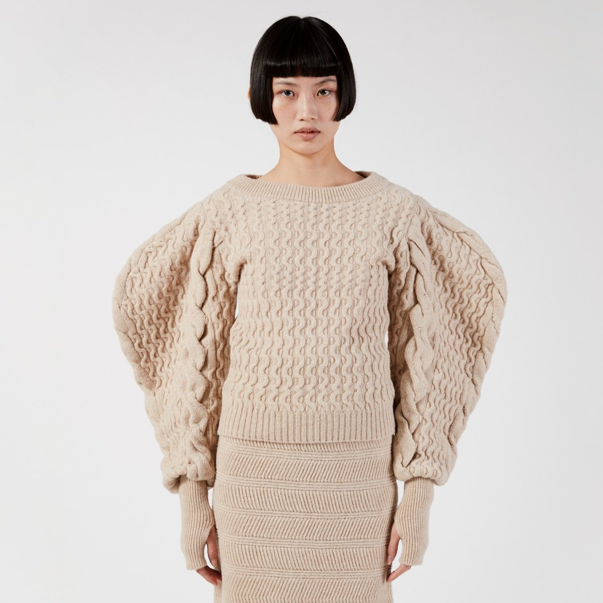 Lemaire Cable Sweater