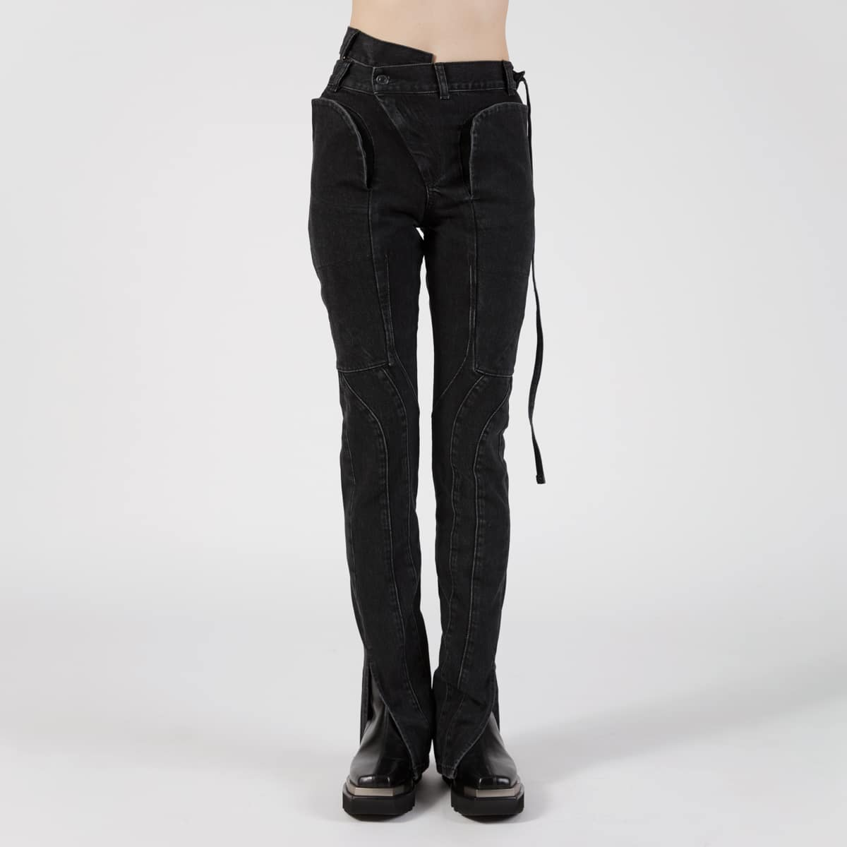 Ottolinger Fitted Wrap Waist Jeans