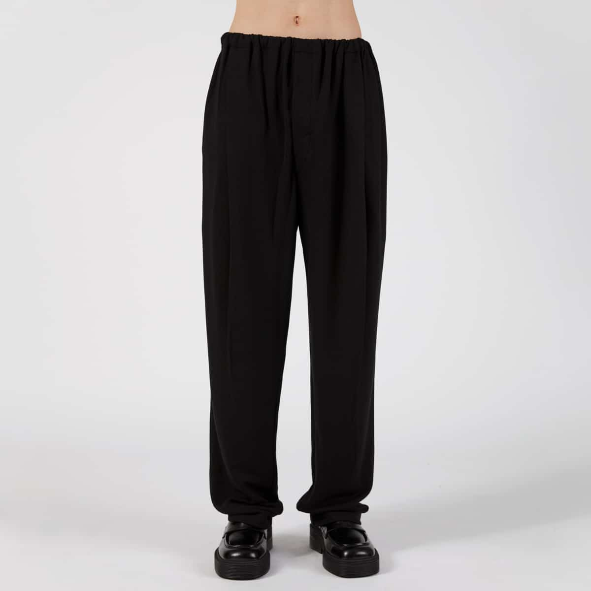 Lemaire Mens Felted Pants