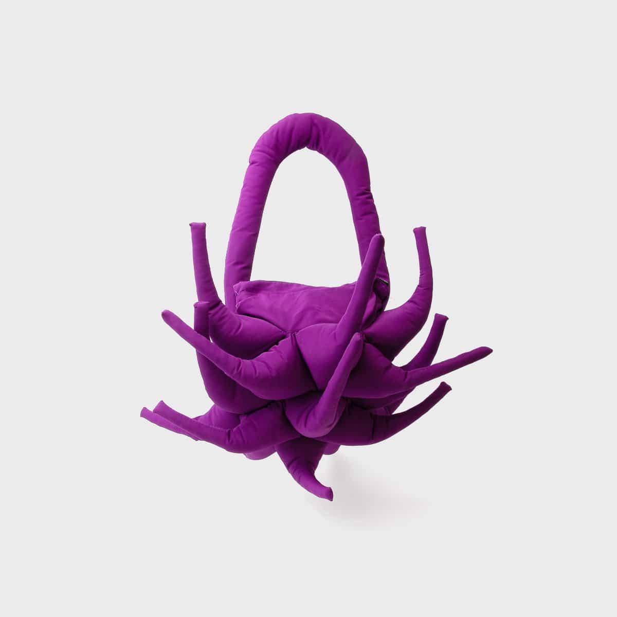 Paula Canovas del Vas Purple Spiky Bag