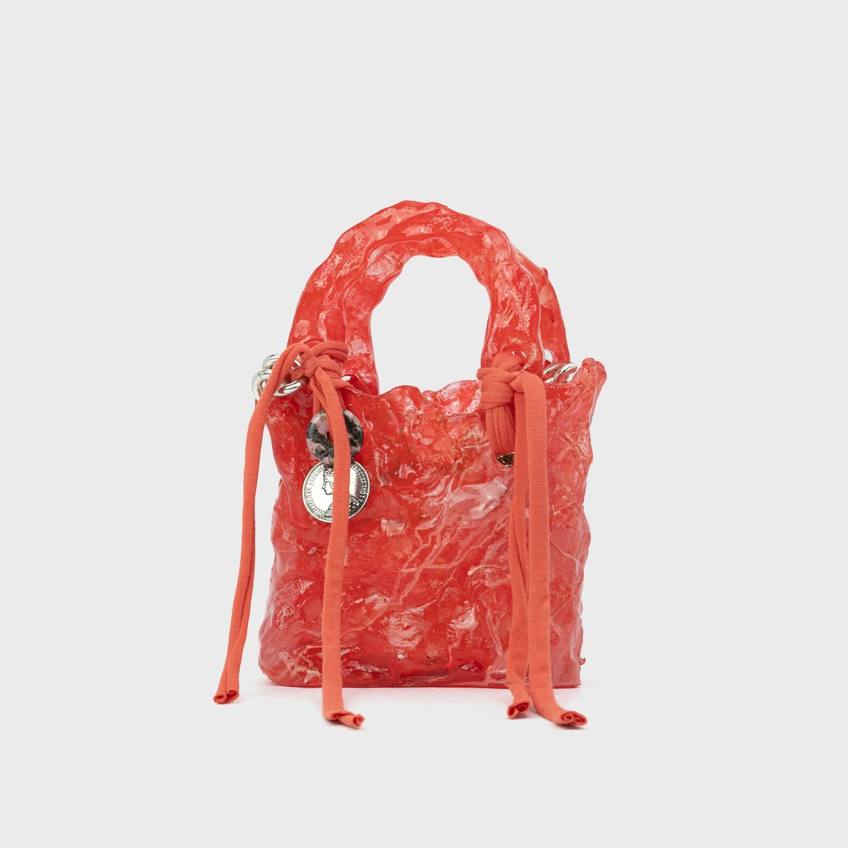 Ottolinger Handcrafted Red Otto Bag