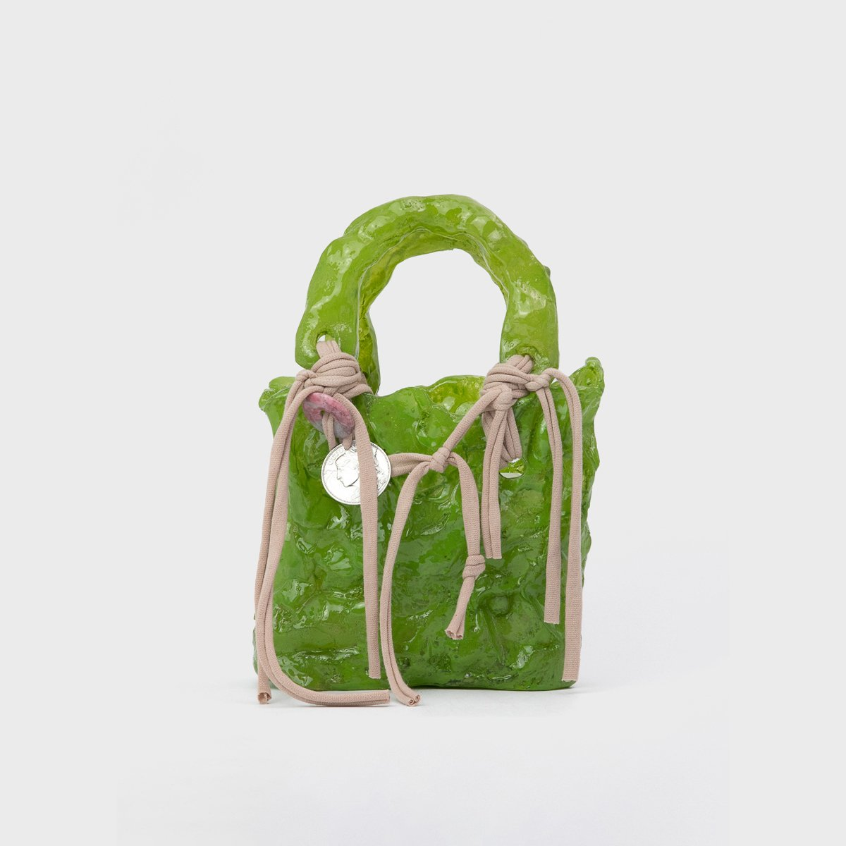 Ottolinger Handcrafted Green Otto Bag