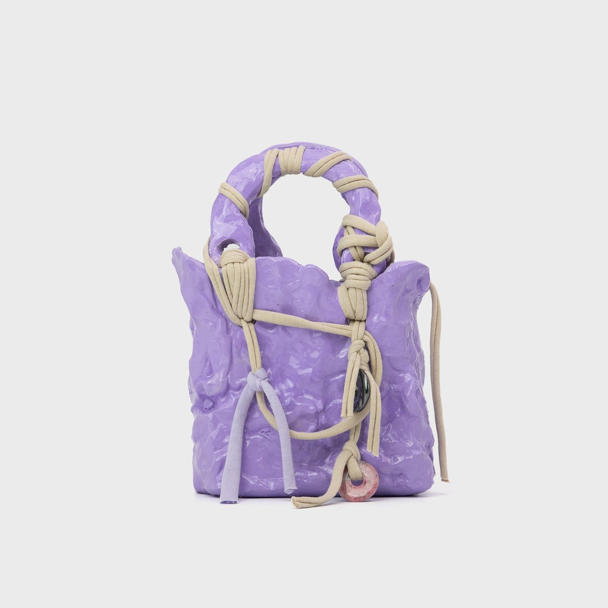 Ottolinger Handcrafted Purple Otto Bag