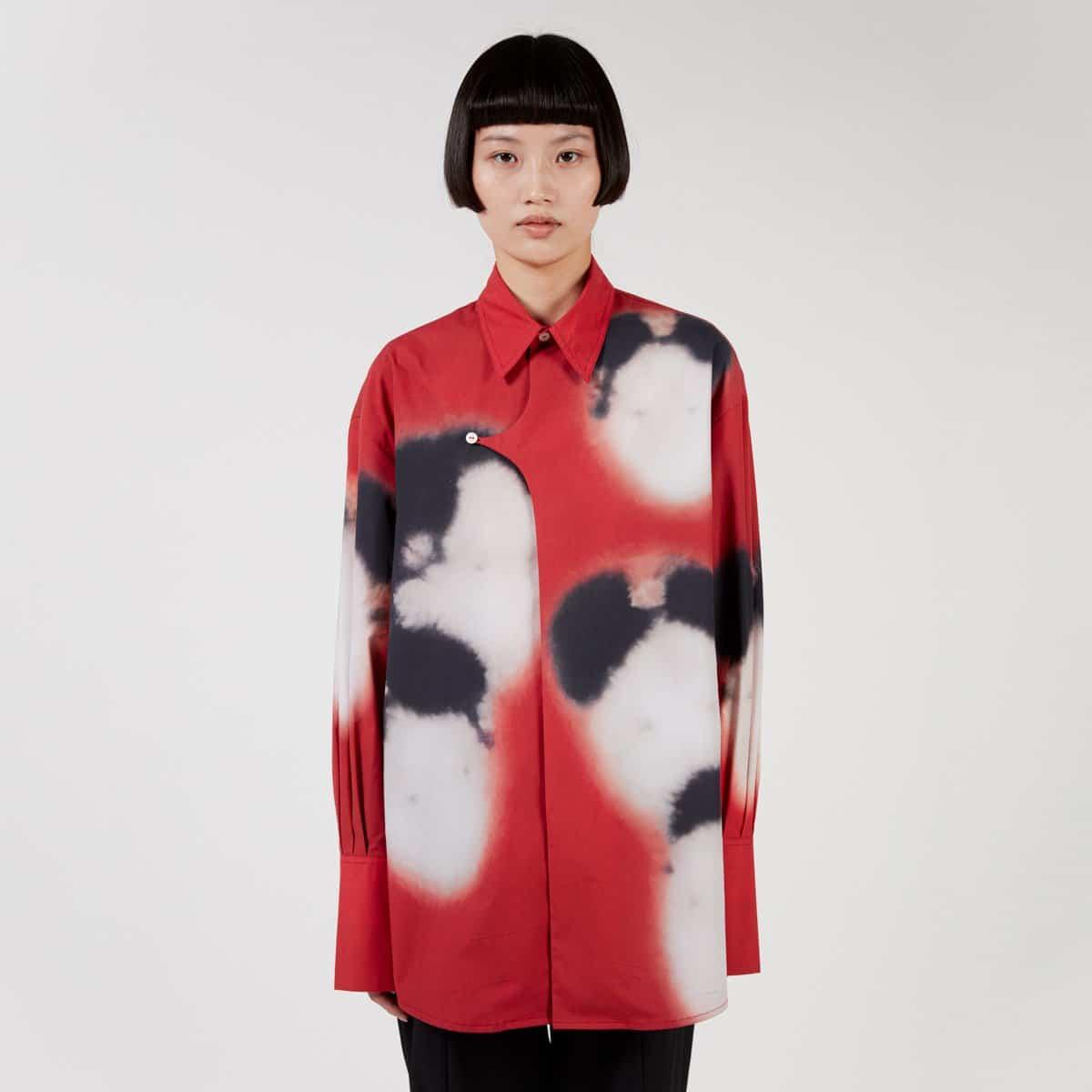 J.Kim Shirt With Faces
