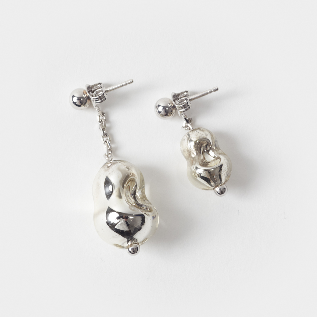 Lemaire Pearl Asymmetrical Earrings