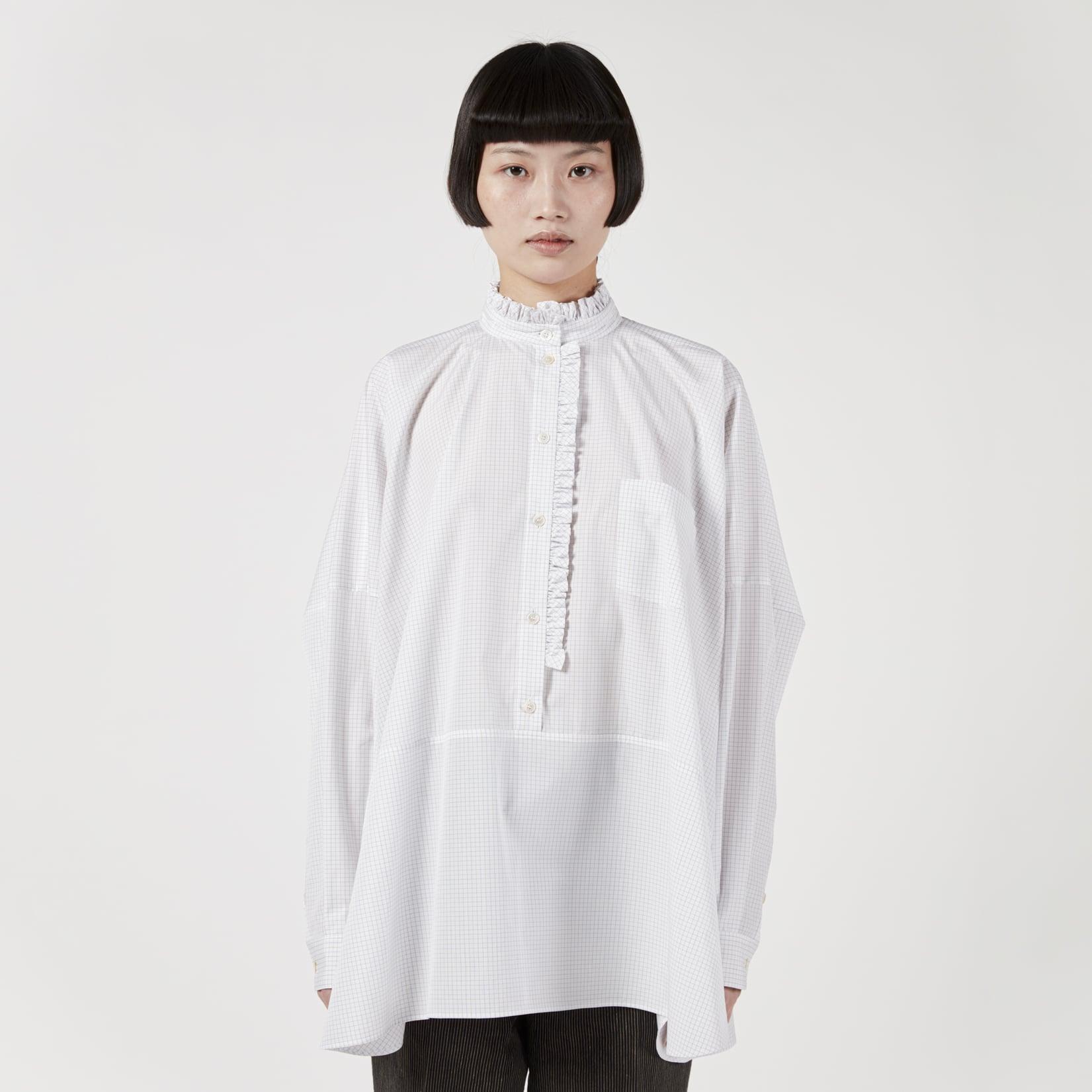 Zanini Fine Check Cotton Shirt