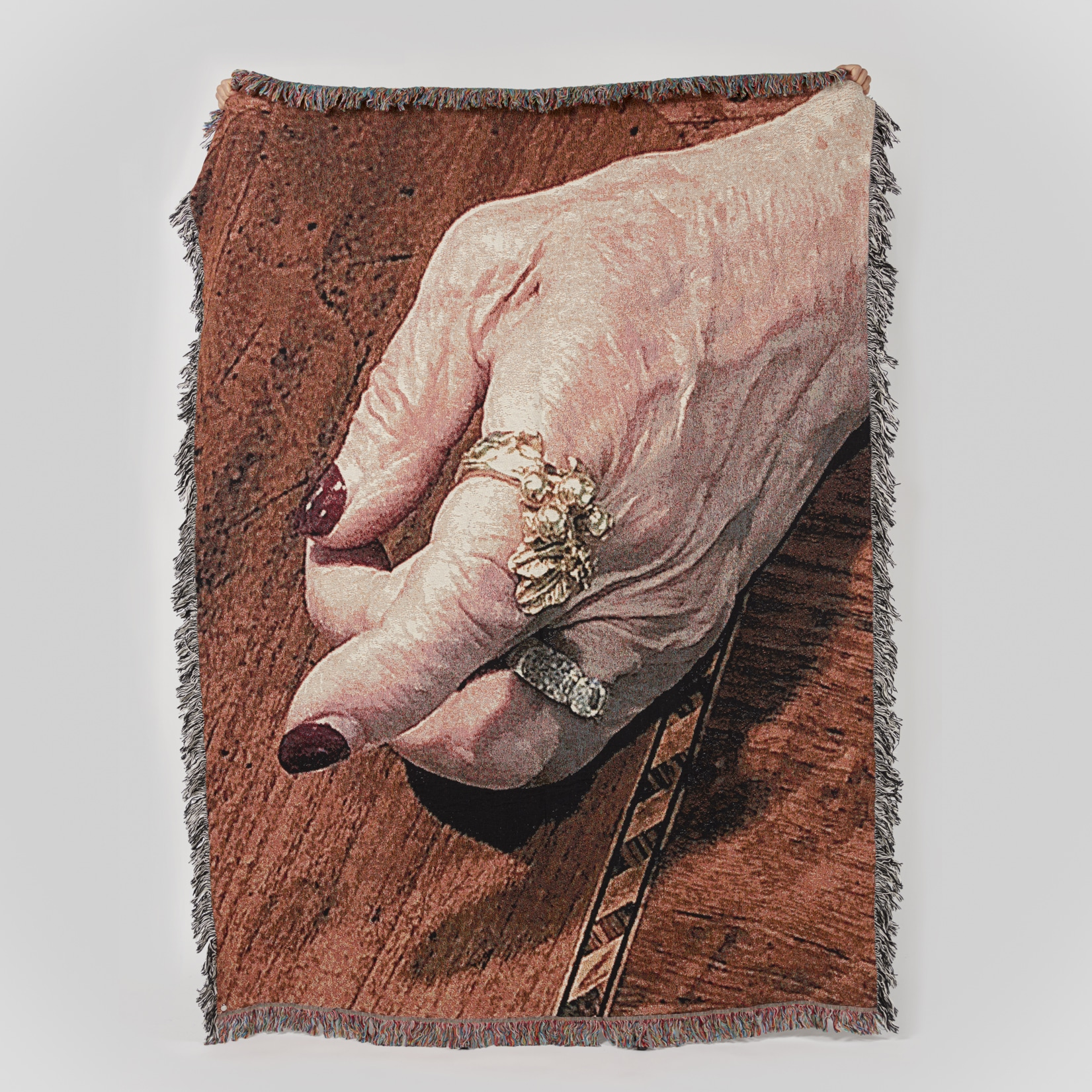 Bless Jewelled Hand Blanket