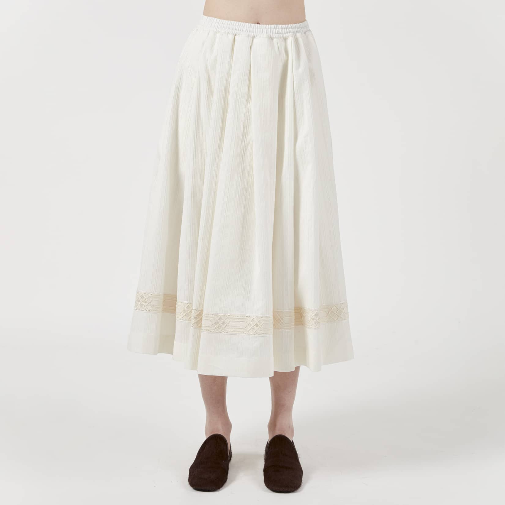 Zanini Antique Shirting Cloth Skirt