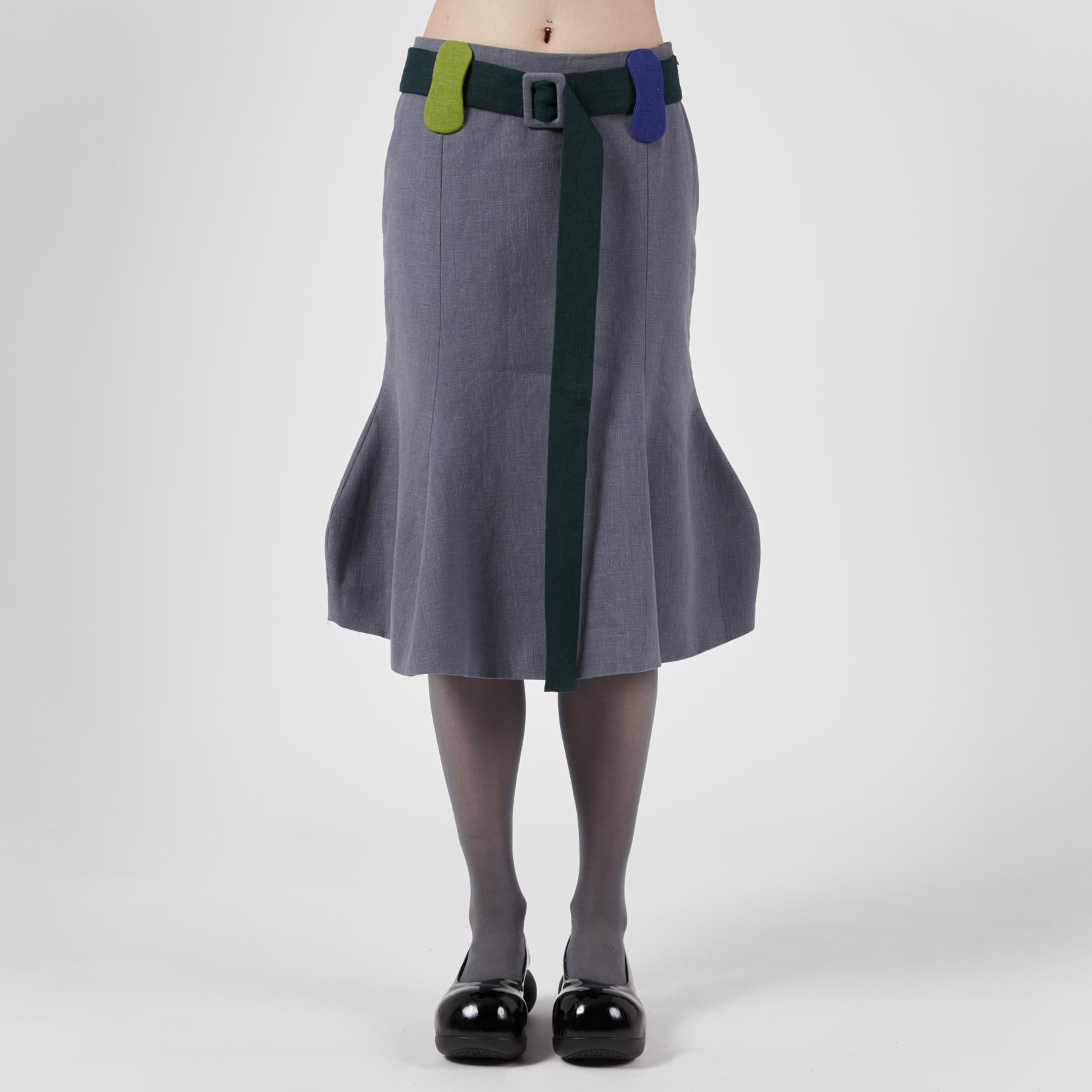 VeniceW Veggie Midi Skirt II