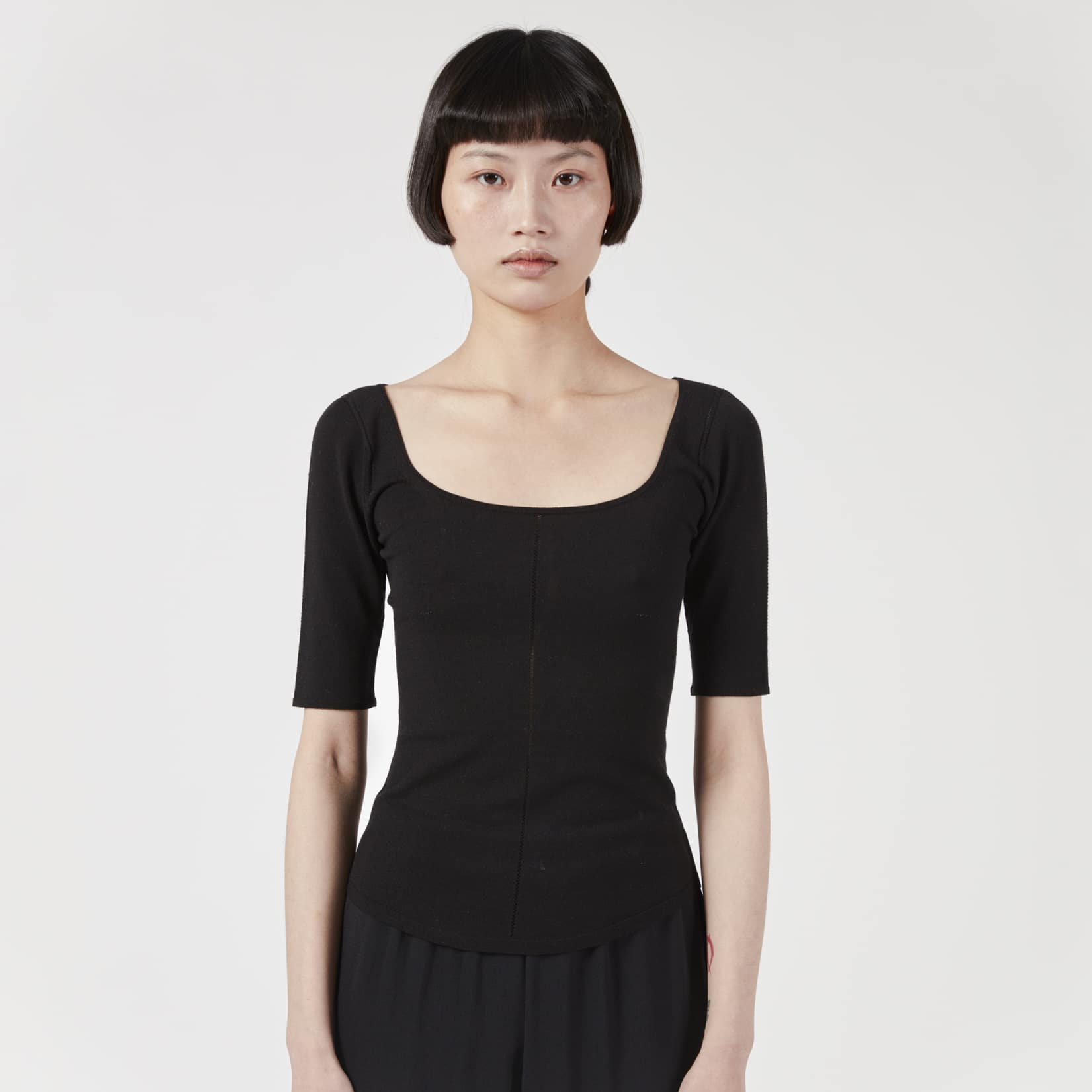Lemaire Knitted 3/4 Sleeve Second Skin