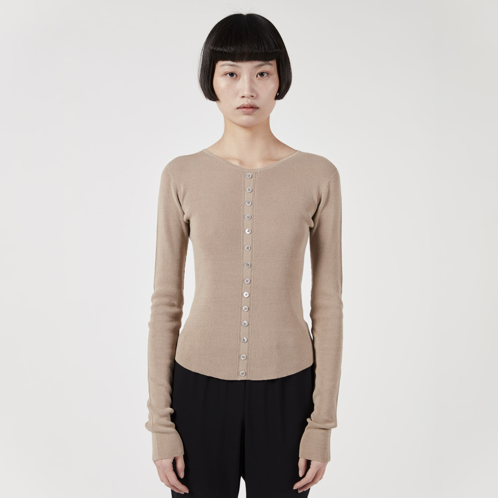 Lemaire Knitted Buttoned Second Skin
