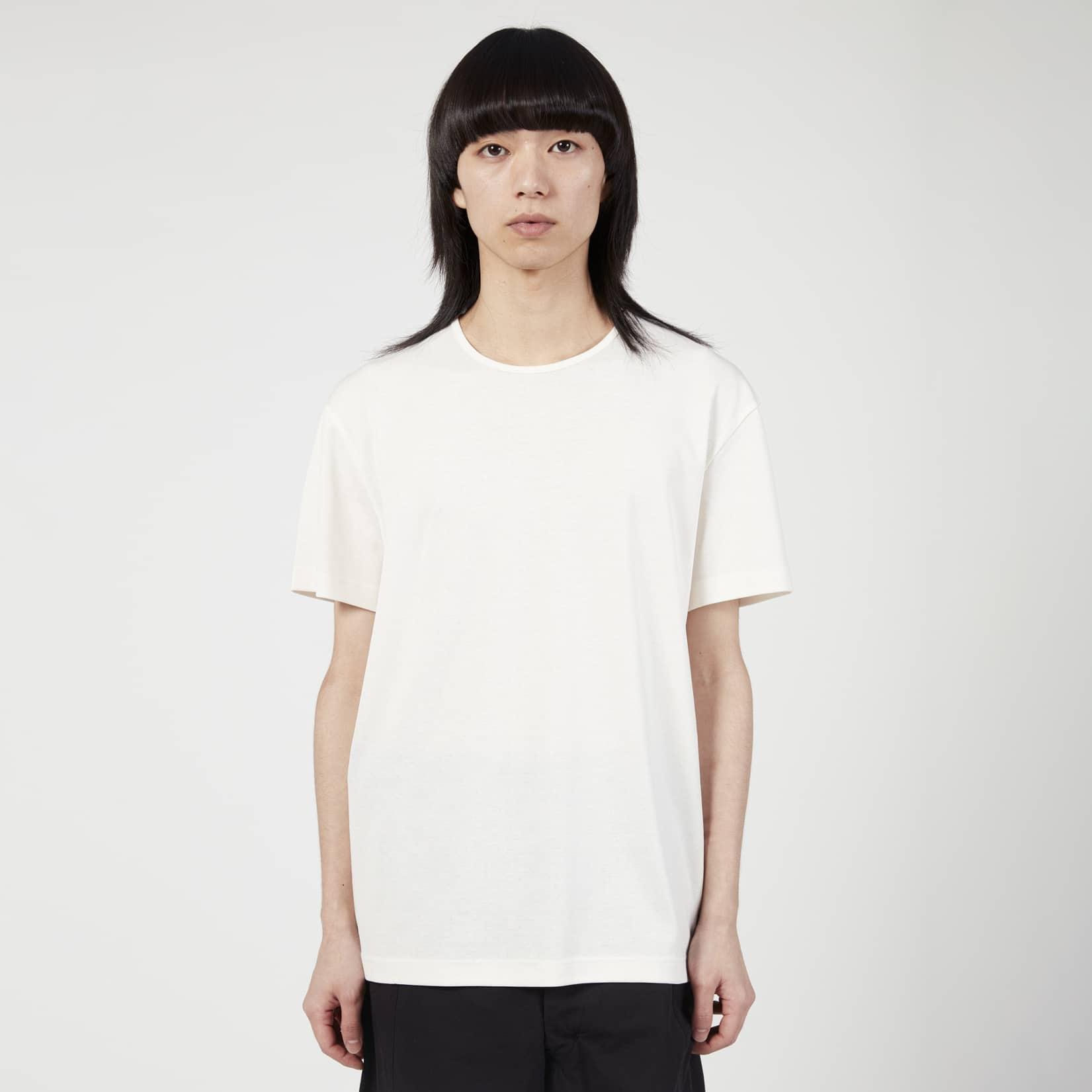 Lemaire Mens Jersey Rib T-Shirt
