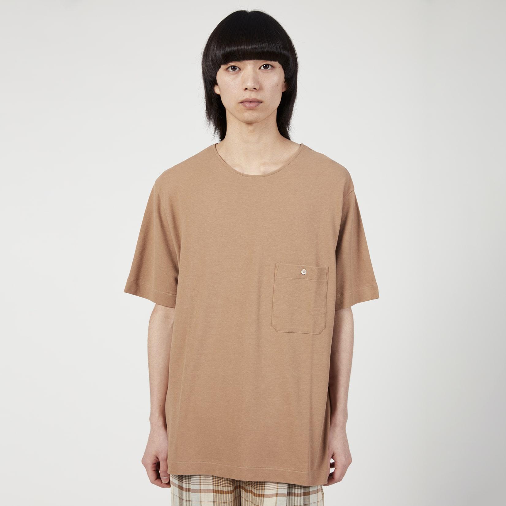 Lemaire Mens Jersey Crepe T-Shirt