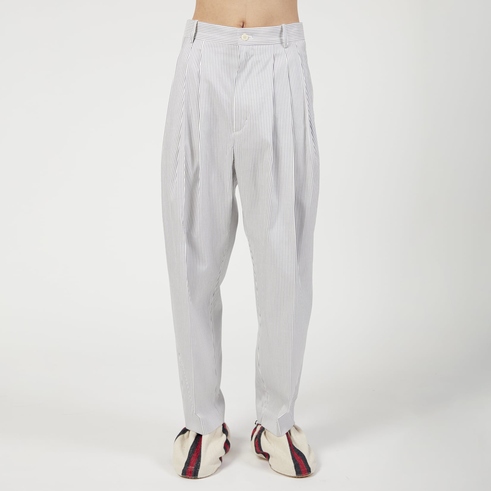Hed Mayner 4 Pleat Pant