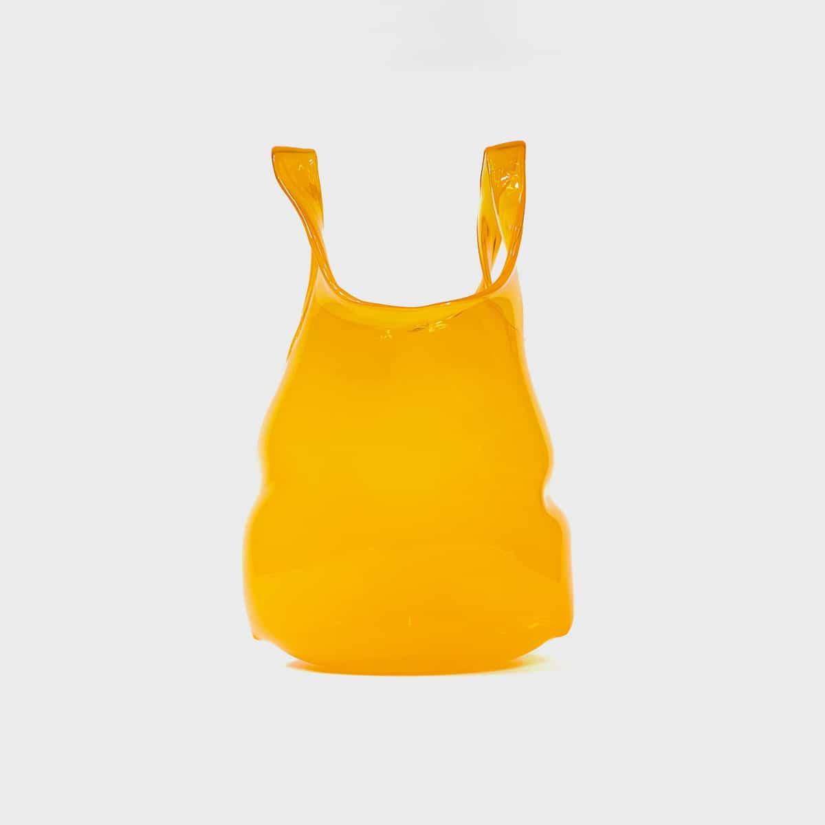 Anne Donzé Et Vincent Chagnon Glass Bag Medium Saffron