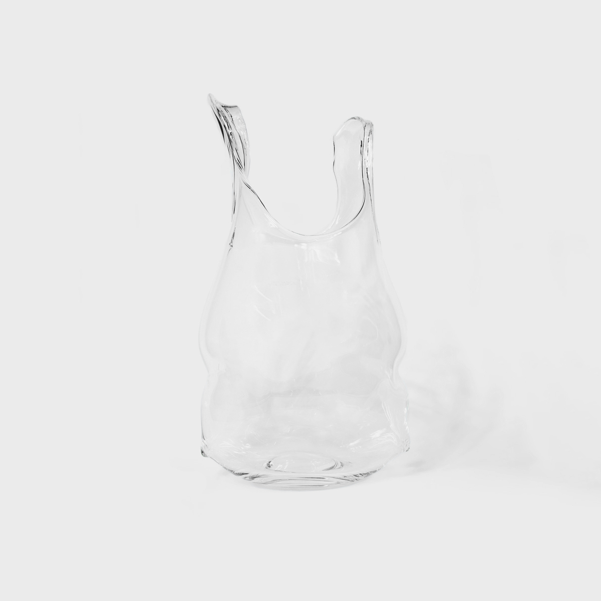 Anne Donzé Et Vincent Chagnon Glass Bag Medium Clear