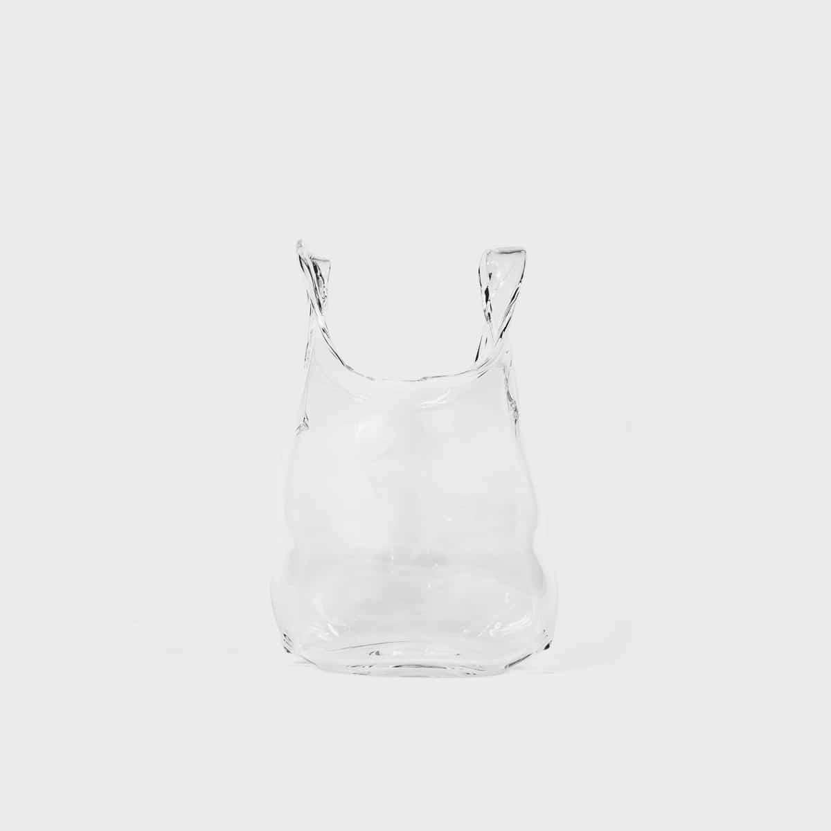 Anne Donzé Et Vincent Chagnon Glass Bag Small Clear