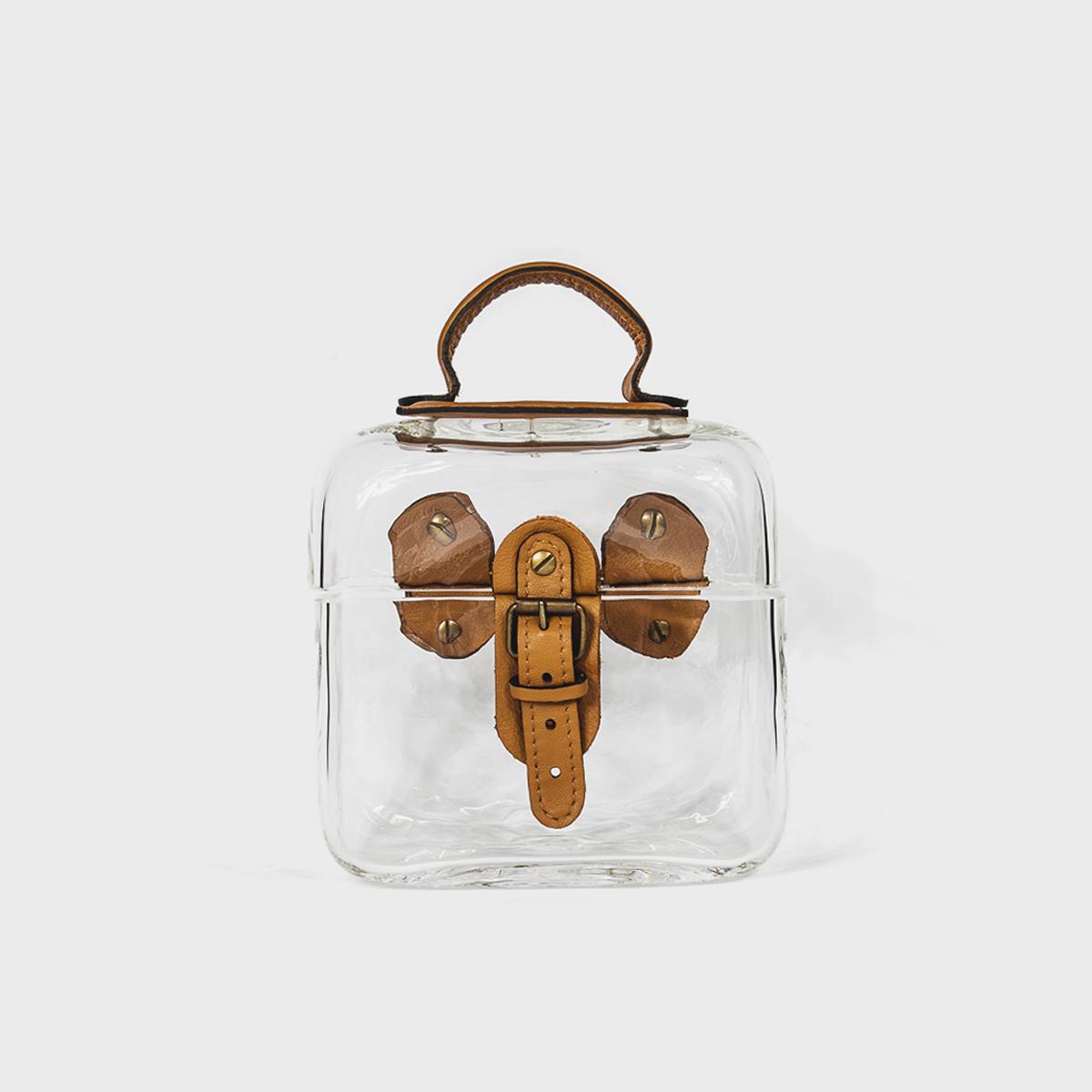 Anne Donzé Et Vincent Chagnon Glass Briefcase
