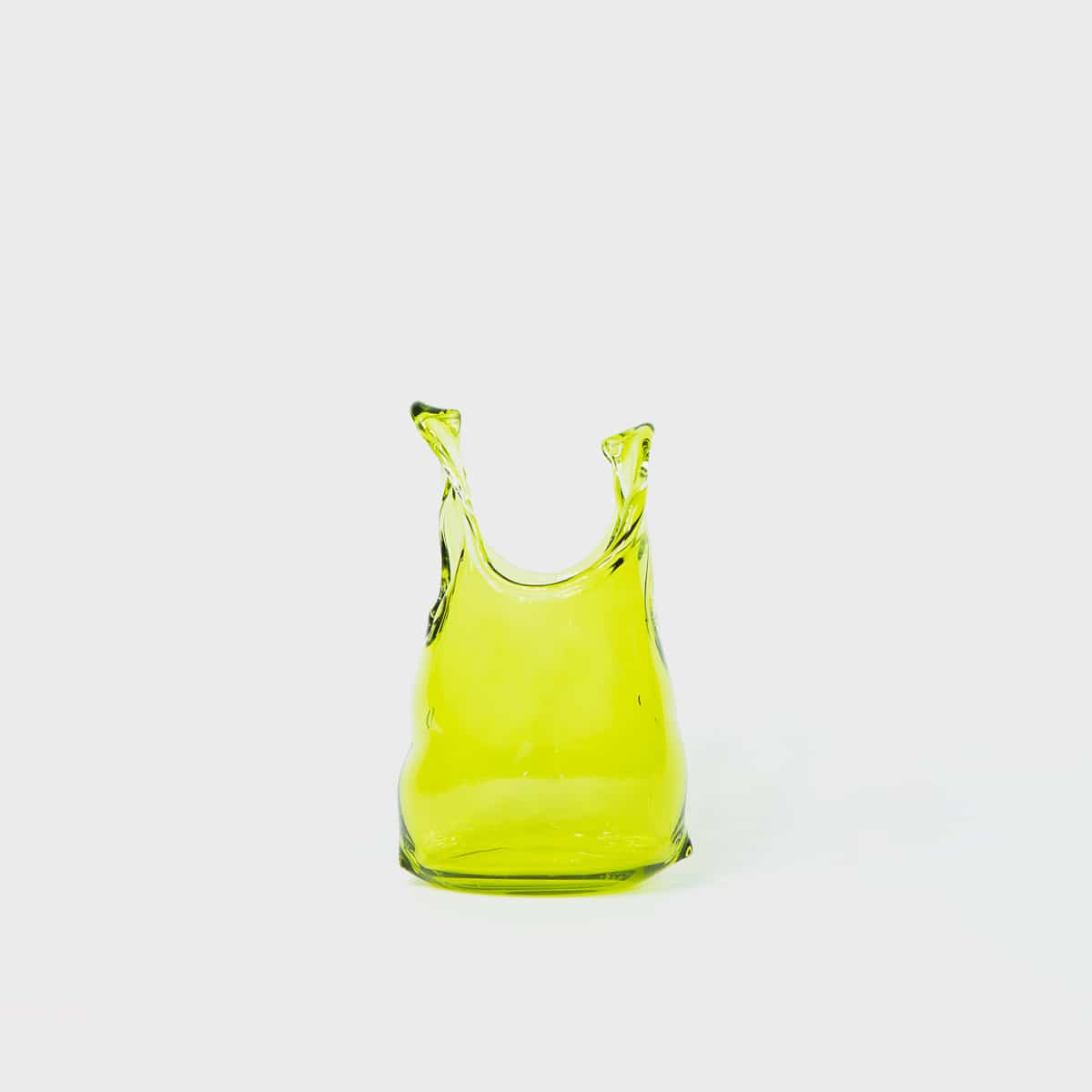 Anne Donzé Et Vincent Chagnon Glass Bag XS Olive