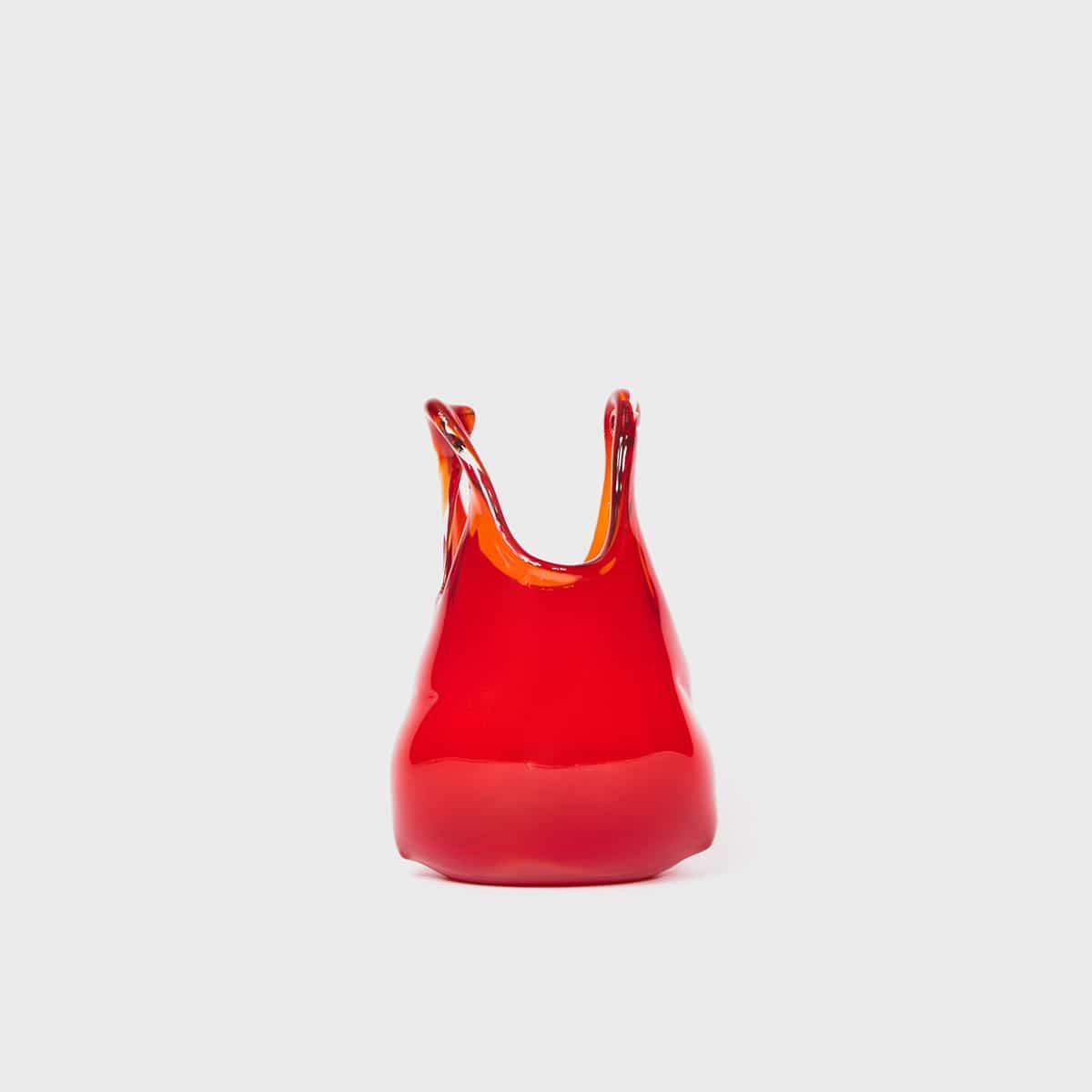 Anne Donzé Et Vincent Chagnon Glass Bag XS Red