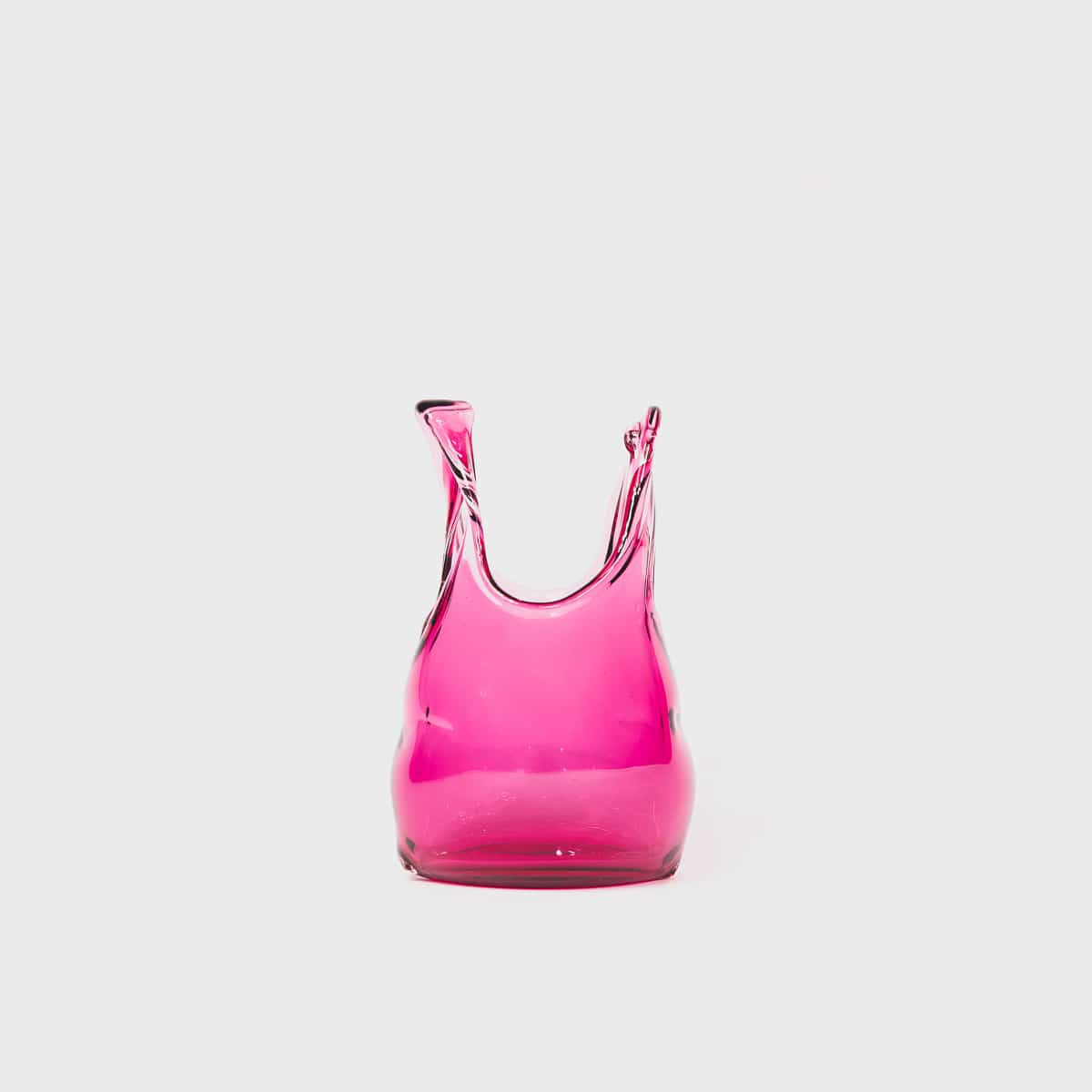Anne Donzé Et Vincent Chagnon Glass Bag XS Fuchsia