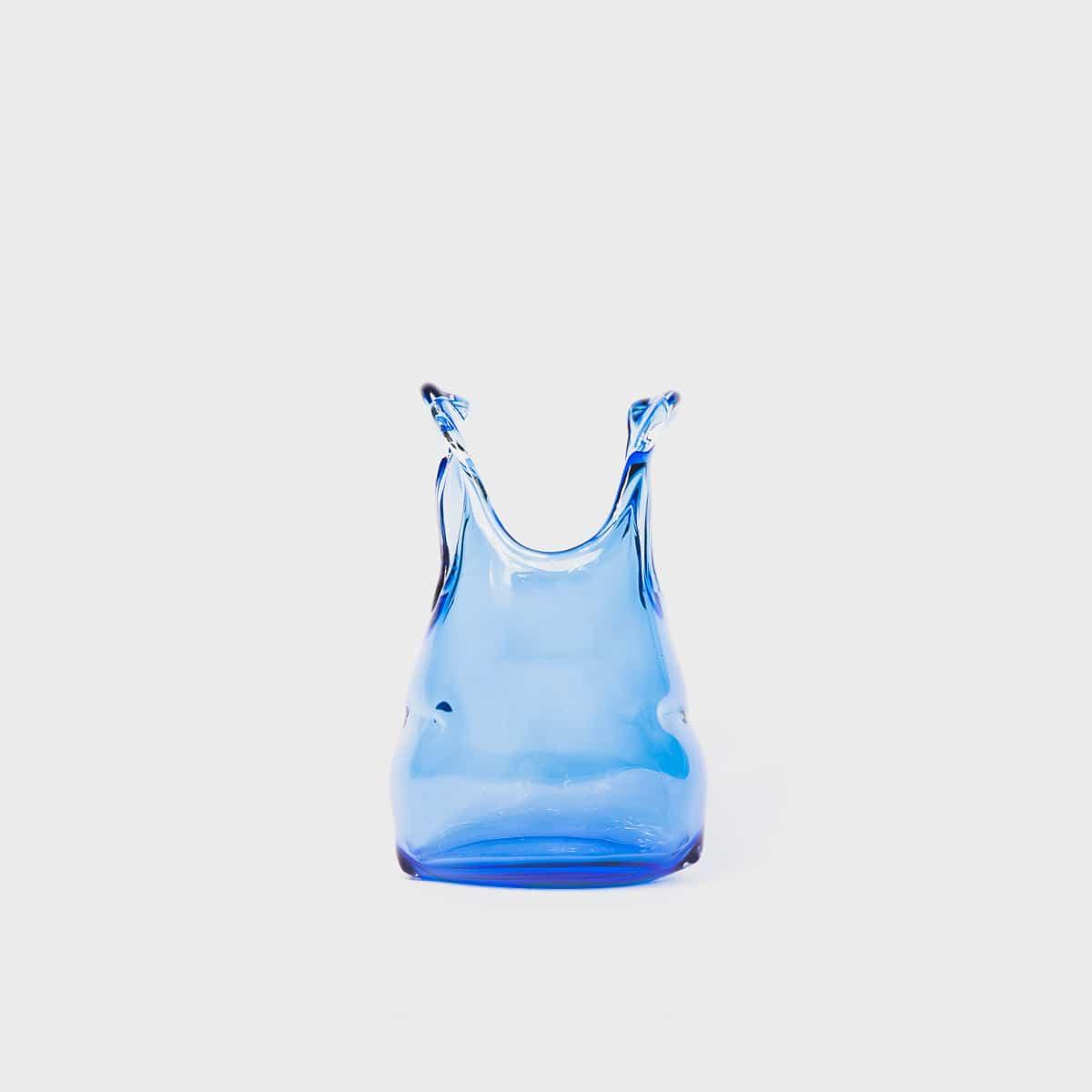 Anne Donzé Et Vincent Chagnon Glass Bag XS Middle Blue