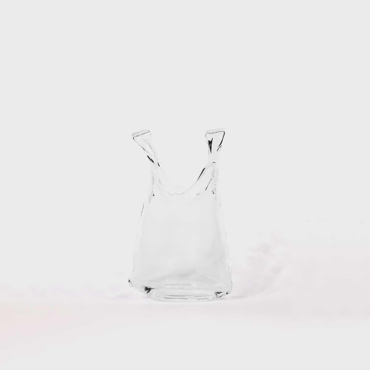 Anne Donzé Et Vincent Chagnon Glass Bag XS Clear