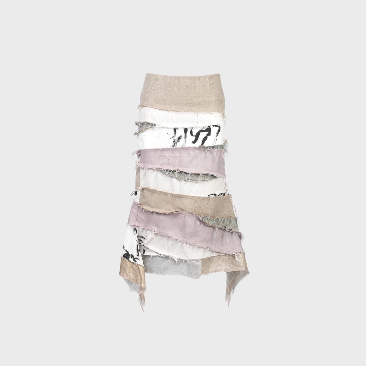 VeniceW Rainbow Gondola Skirt