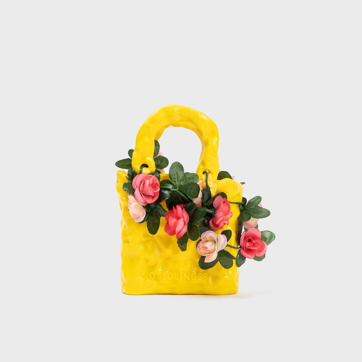 Ottolinger Signature Ceramic Bag Rose Yellow